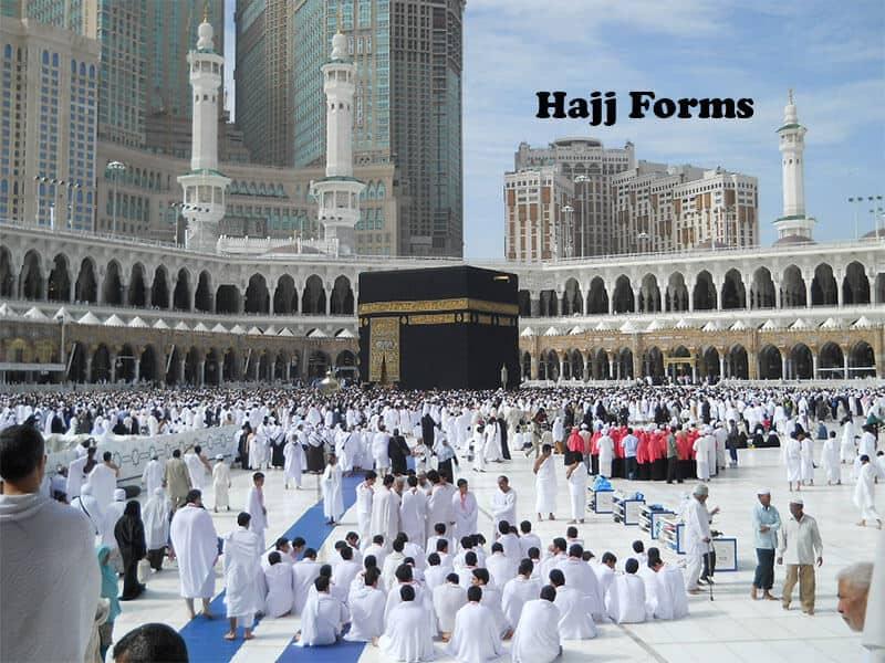 HAJJ AND UMRAH FORMS