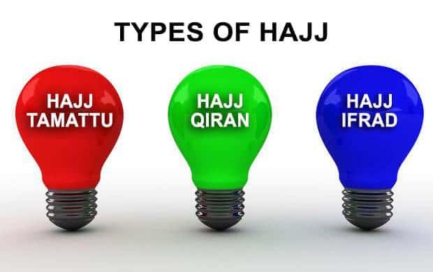 TYPES OF HAJJ