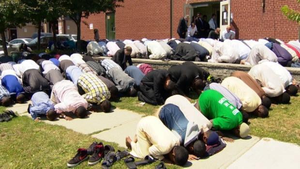 Khalid Mosque Friday Prayer
