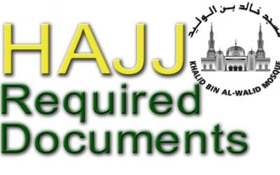 HAJJ REQUIRED DOCUMENTS