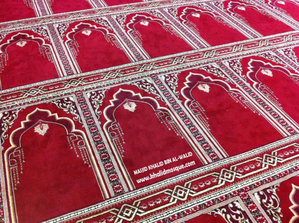 Prayer Hall - Khalid Mosque