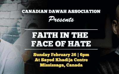 FAITH IN THE FACE OF HATE!