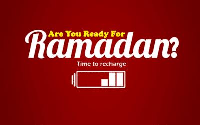 READY FOR RAMADAN?