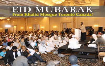 EID MUBARAK PLANNING