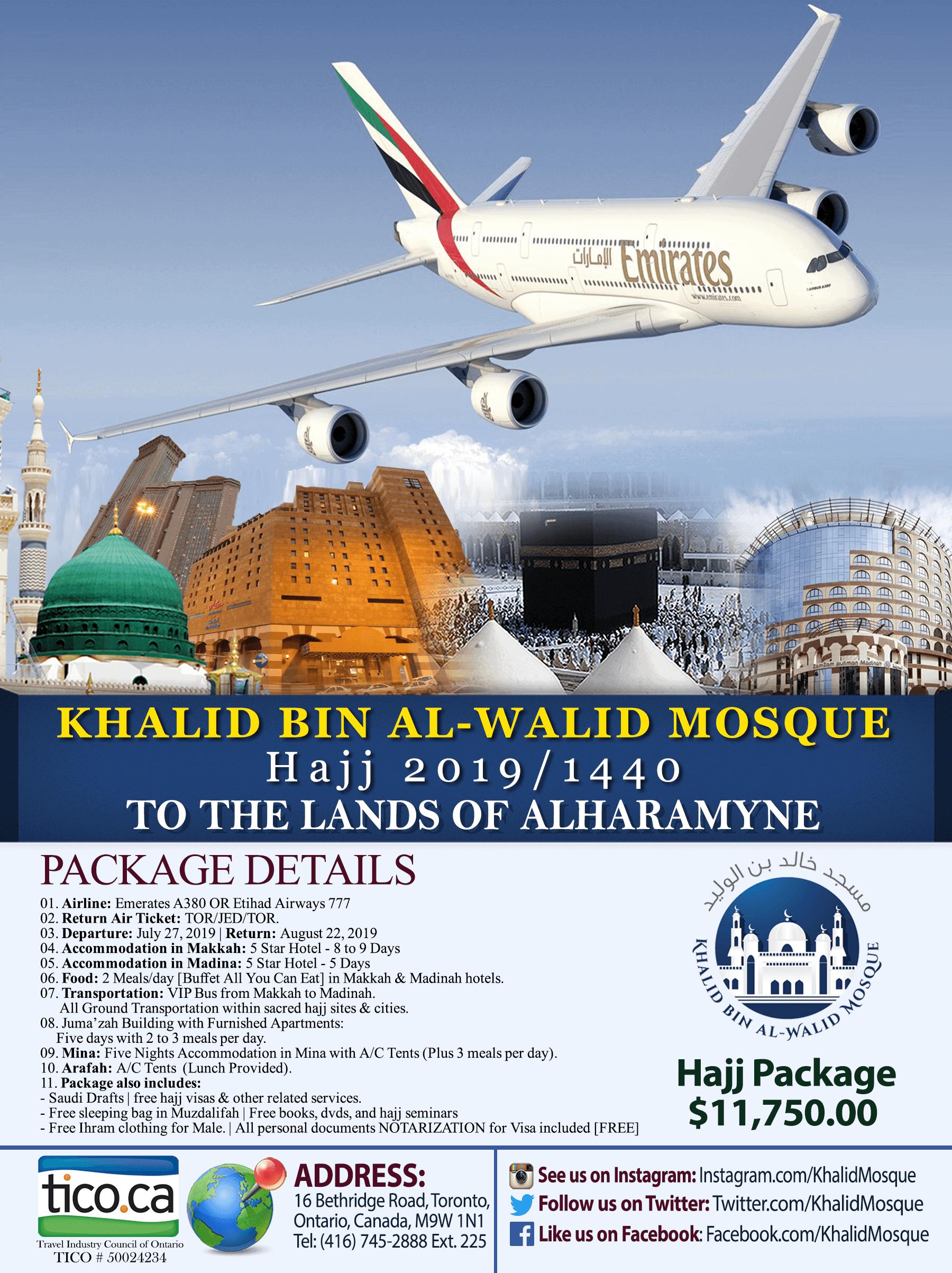 Hajj Package 2019
