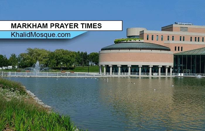 MARKHAM PRAYER TIMES