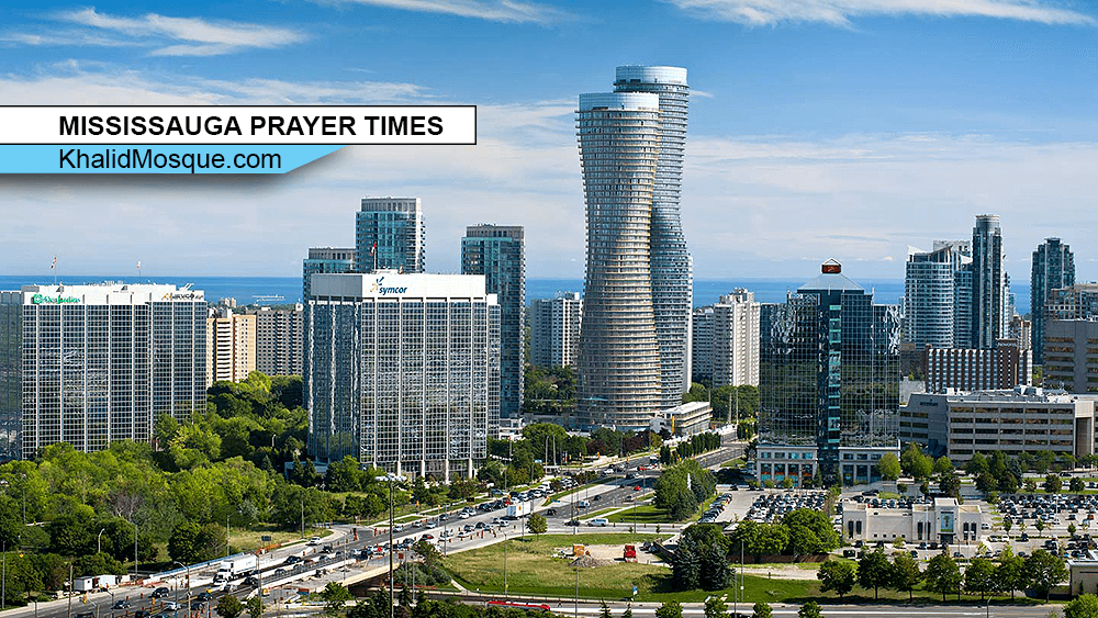 MISSISSAUGA PRAYER TIMES